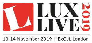 LuxLive 2019 logo with date+venue